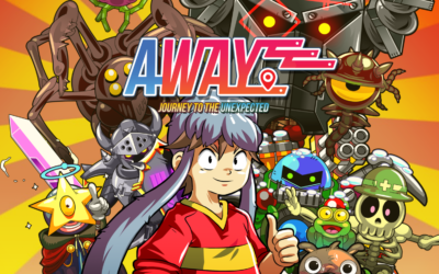 Away: Journey to the Unexpected launching from today