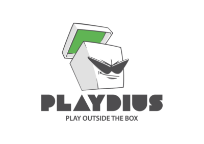 Playdius logo - indie games publisher