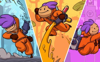 Let the paint out! Splasher is now available on Nintendo Switch!