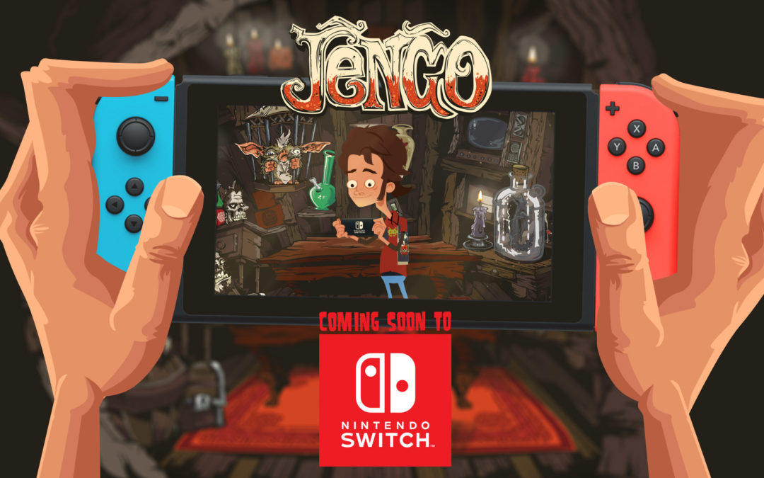 Jengo Developer Robot Wizard Announces Plans for Nintendo Switch™