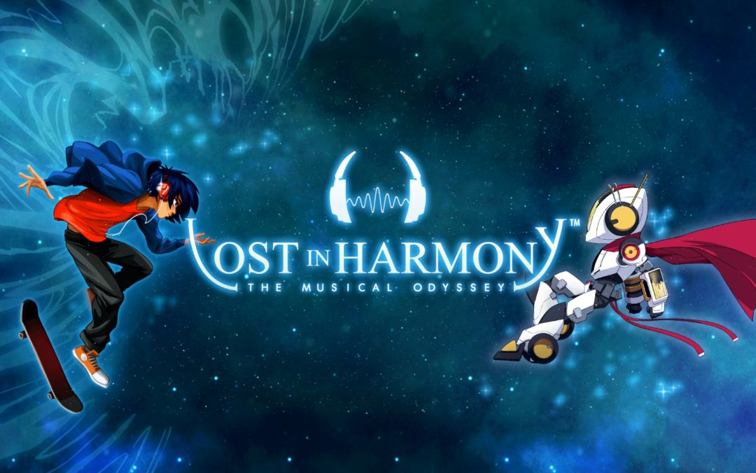 Critically-Acclaimed Musical Runner Lost in Harmony Coming to Nintendo Switch and PC