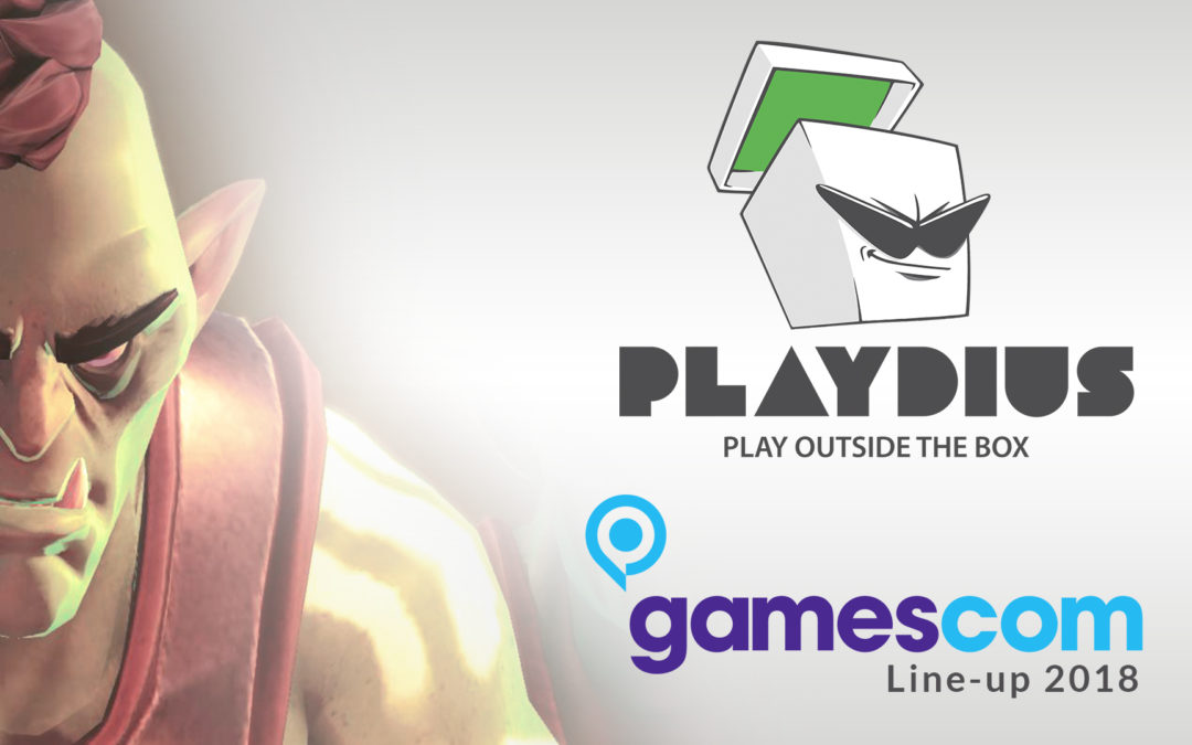 Playdius Line-up for Gamescom 2018