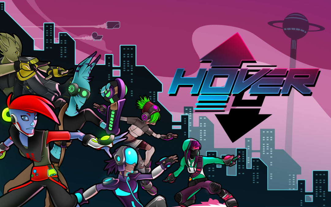 The Rightful Heir to Parkour Games returns: Hover is coming to Consoles on Sept. 18, 2018!