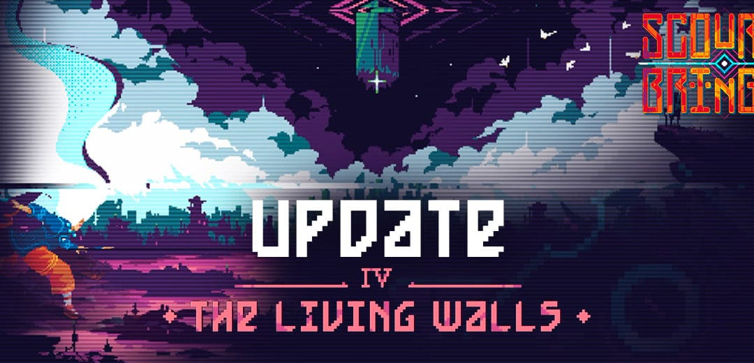 "Indie hit ScourgeBringer gets first major content update ""The Living Walls"""