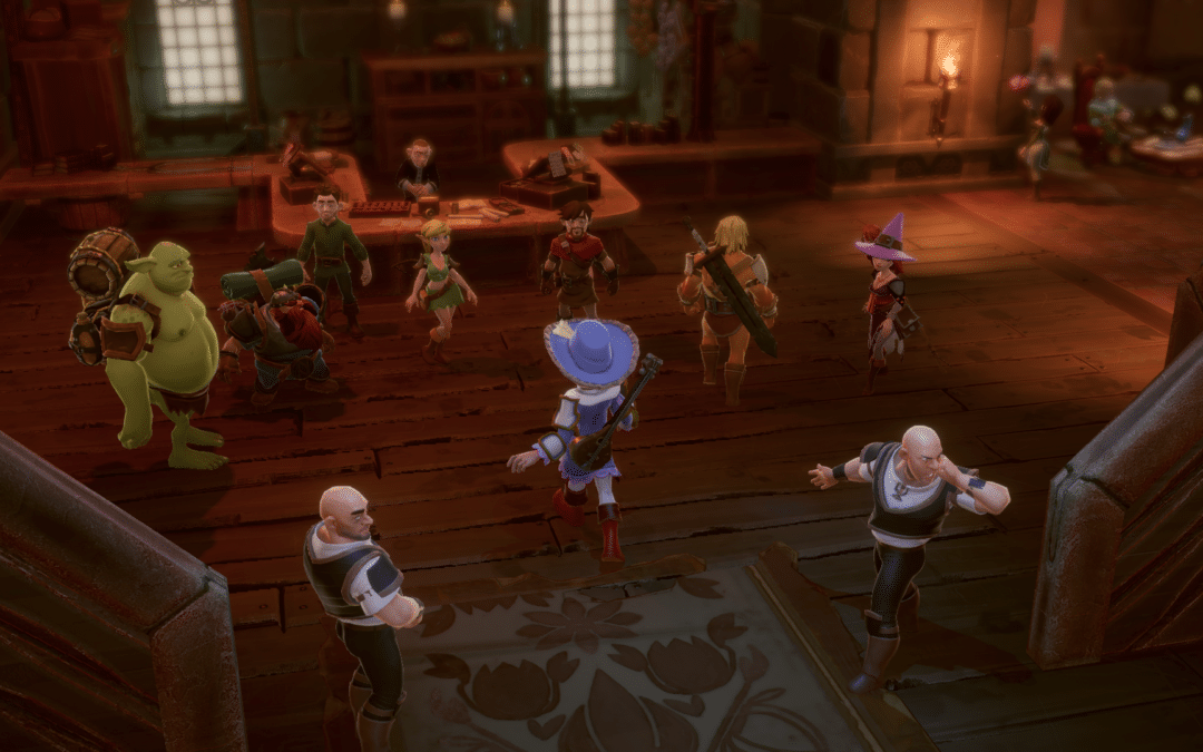 Offbeat tactical RPG The Dungeon Of Naheulbeuk: The Amulet Of Chaos Launches Today