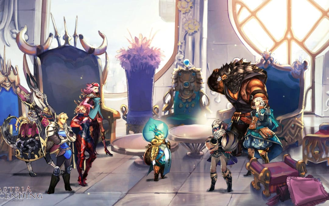 Turn-based JRPG 'Astria Ascending' Revealed for PC and console