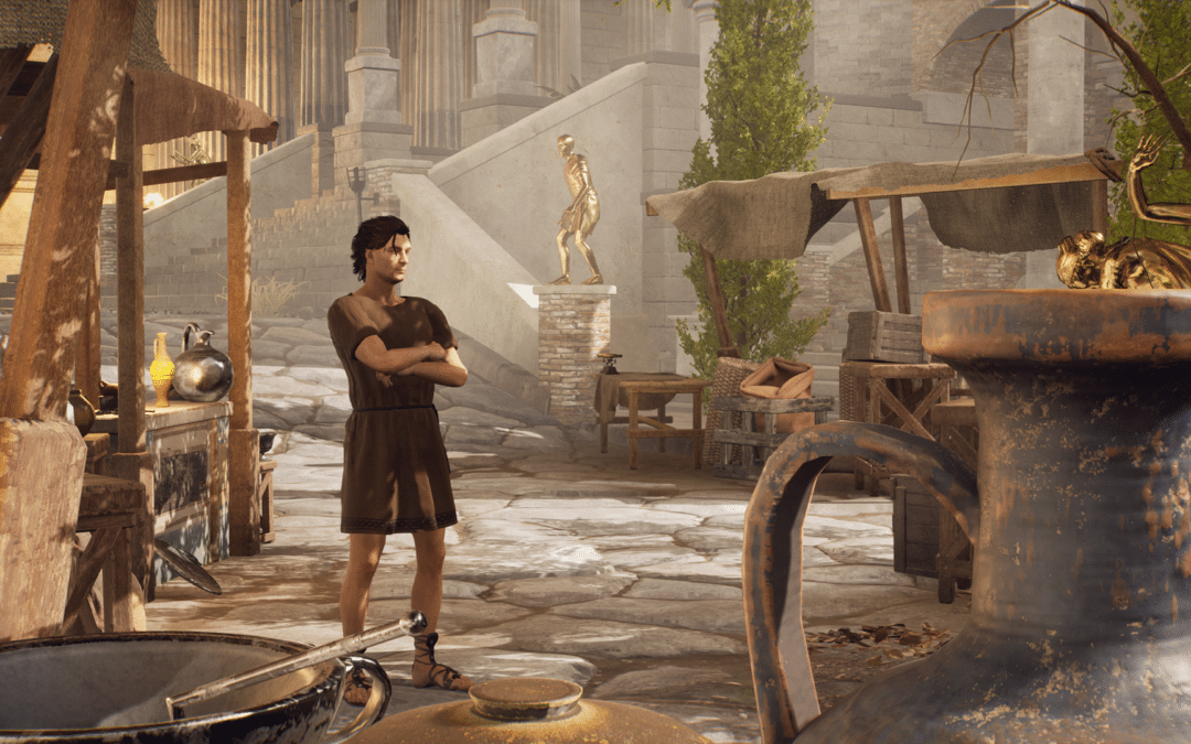 Time-hopping murder mystery The Forgotten City gets new narrated gameplay trailer